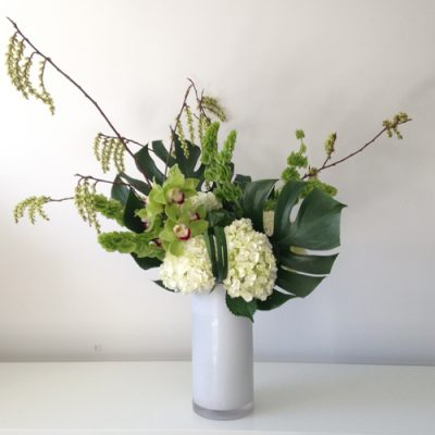 july-floral-hydrangea-cymbidium-monstera-stachyurus